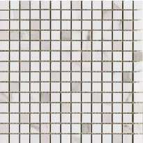 Mosaiikkilaatta Pukkila Marble Boutique Wall mosaiikki Statuario white, kiiltävä, sileä, 20x19.7mm