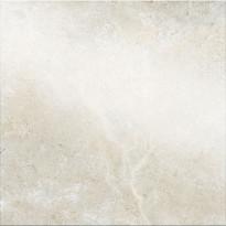 Lattialaatta Pukkila Kalkaria Alba Bianco, puolikiiltävä, sileä, 598x598mm