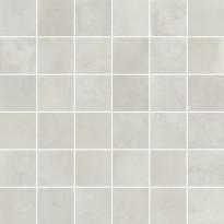 Mosaiikkilaatta Pukkila Cocoon mosaiikki White, himmeä, sileä, 50x50mm