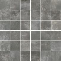 Mosaiikkilaatta Pukkila Cocoon mosaiikki Multigrey, himmeä, sileä, 50x50mm