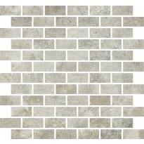 Mosaiikkilaatta Pukkila Cotto Med Ginepro, himmeä, sileä, 50x25mm