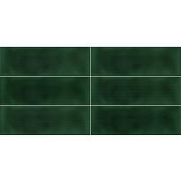 Kuviolaatta Pukkila Soho Racing green, kiiltävä, struktuuri, 297x97mm