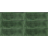 Kuviolaatta Pukkila Soho Green, himmeä, struktuuri, 297x97mm