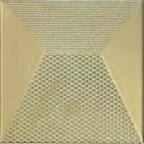 Kuviolaatta Pukkila Shapes Japan Gold, himmeä, sileä, 250x250mm