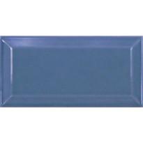 Seinälaatta Pukkila Metro Blue, kiiltävä, sileä, 150x75mm