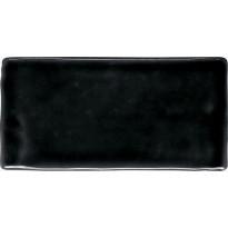 Seinälaatta Pukkila Atelier Black, kiiltävä, 150x75mm