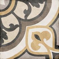 Kuviolaatta Pukkila Art Nouveau Majestic Colour, himmeä, sileä, 200x200mm