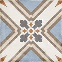 Kuviolaatta Pukkila Art Nouveau Turin Colour, himmeä, sileä, 200x200mm