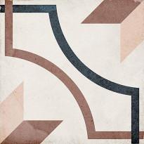 Kuviolaatta Pukkila Art Nouveau Embassy Colour, himmeä, sileä, 200x200mm