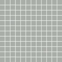 Mosaiikkilaatta Pukkila Mosaico Porcelanico Blue-Grey, himmeä, sileä, 25x25mm
