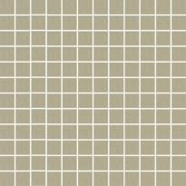 Mosaiikkilaatta Pukkila Mosaico Porcelanico Grey-Green, himmeä, sileä, 25x25mm