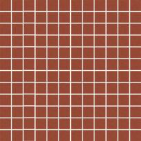 Mosaiikkilaatta Pukkila Mosaico Porcelanico Granite Red, himmeä, sileä, 25x25mm