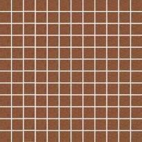 Mosaiikkilaatta Pukkila Mosaico Porcelanico Granite Brown, himmeä, sileä, 25x25mm