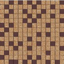 Mosaiikkilaatta Pukkila Mosaico Porcelanico Värimix 204-138, himmeä, sileä, 25x25mm