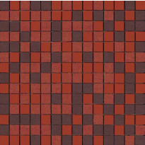Mosaiikkilaatta Pukkila Mosaico Porcelanico Värimix 138-133-134, himmeä, sileä, 25x25mm
