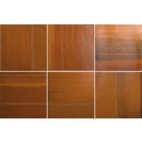Kuviolaatta Pukkila Habitat Cala Tangerine, kiiltävä, sileä, 200x200mm