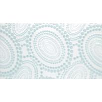 Kuviolaatta Pukkila Ophelia Hestia Blue, kiiltävä, sileä, 447x247mm