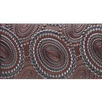 Kuviolaatta Pukkila Ophelia Hestia Plum, kiiltävä, sileä, 447x247mm