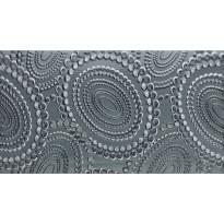 Kuviolaatta Pukkila Ophelia Hestia Antracite, kiiltävä, sileä, 447x247mm