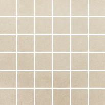 Mosaiikkilaatta Pukkila Universal Sand, himmeä, sileä, 50x50mm