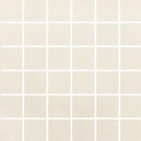 Mosaiikkilaatta Pukkila Universal Ivory, himmeä, sileä, 50x50mm