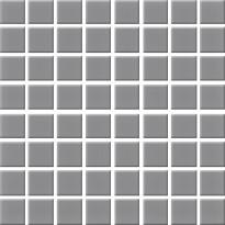 Mosaiikkilaatta Pukkila Nova Arquitectura Lead Grey, himmeä, sileä, 22x22mm