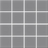 Mosaiikkilaatta Pukkila Nova Arquitectura Lead Grey, himmeä, sileä, 47x47mm