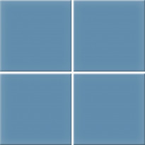Lattialaatta Pukkila Nova Arquitectura Atlas Blue 5514/10, himmeä, sileä, 197x197mm
