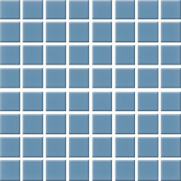 Seinälaatta Pukkila Nova Arquitectura Atlas Blue, himmeä, sileä, 197x197mm