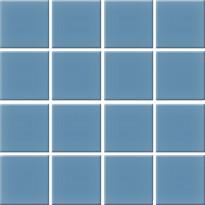 Lattialaatta Pukkila Nova Arquitectura Atlas Blue 5514/5, himmeä, sileä, 197x197mm