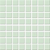 Mosaiikkilaatta Pukkila Nova Arquitectura Water Green, himmeä, sileä, 22x22mm