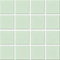 Mosaiikkilaatta Pukkila Nova Arquitectura Water Green, himmeä, sileä, 47x47mm