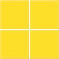 Mosaiikkilaatta Pukkila Nova Arquitectura Yellow, himmeä, sileä, 97x97mm