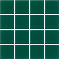 Mosaiikkilaatta Pukkila Nova Arquitectura Victorian Green, himmeä, sileä, 47x47mm