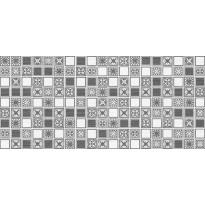 Kuviolaatta Pukkila Montserrat Grey Mosaico, himmeä, sileä, 547x247mm