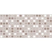Kuviolaatta Pukkila Montserrat Taupe Mosaico, himmeä, sileä, 547x247mm