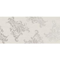 Kuviolaatta Pukkila Montserrat Greenville White, himmeä, sileä, 547x247mm