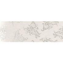 Kuviolaatta Pukkila Grenadines Grenville White, kiiltävä, sileä, 747x247mm