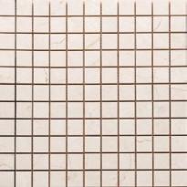 Mosaiikkilaatta Pukkila Luxury Marfil Beige, kiiltävä, sileä, 30x30mm