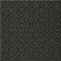 Lattialaatta Pukkila Keradur Technica Anthrazit Mix, himmeä, struktuuri, tähtinasta, 146x146mm
