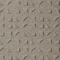 Lattialaatta Pukkila Keradur Technica Grey Mix, himmeä, struktuuri, kolmiokulmanasta, 146x146mm