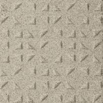 Lattialaatta Pukkila Keradur Technica White Mix, himmeä, struktuuri, kolmiokulmanasta, 146x146mm