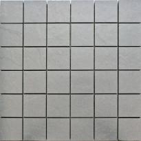 Mosaiikkilaatta Pukkila Kivi Grey, himmeä, sileä, 53x53mm