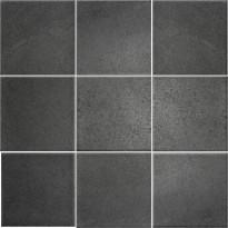 Lattialaatta Pukkila Landstone Antracite, himmeä, sileä, 97x97mm