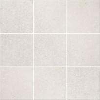 Lattialaatta Pukkila Europe White, himmeä, sileä, 97x97mm