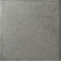 Lattialaatta Pukkila Geo Antracite, himmeä, sileä, 97x97mm, myyntierä 11,52m², Verkkokaupan poistotuote