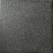 Lattialaatta Pukkila Geo Black, himmeä, sileä, 97x97mm