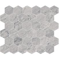 Mosaiikkilaatta Pukkila Bernini Stone Bardiglio, himmeä, sileä, 300x330mm