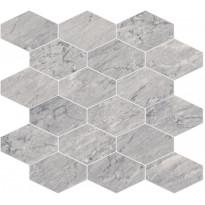 Mosaiikkilaatta Pukkila Bernini Stone Bardiglio, himmeä, sileä, 330x370mm
