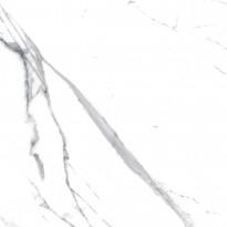 Lattialaatta Pukkila Luxury Stone Statuario, kiillotettu, sileä, 480x480mm